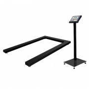 Scales for pallets